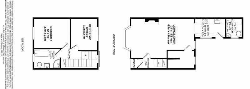 Floorplan for Knutsford Road, Antrobus, Cheshire