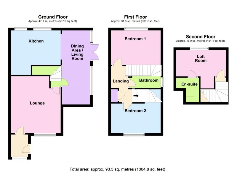Floorplan for Peregrine Road, Offerton, Stockport