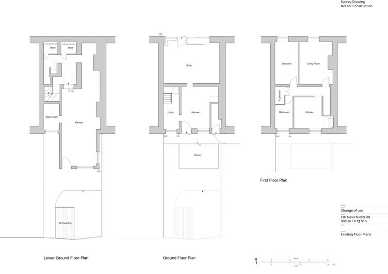 Floorplan for Newchurch Road, Bacup