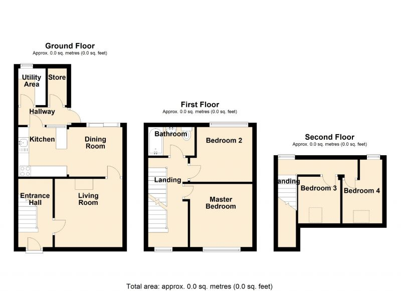 Floorplan for Mount Drive, Marple, Stockport