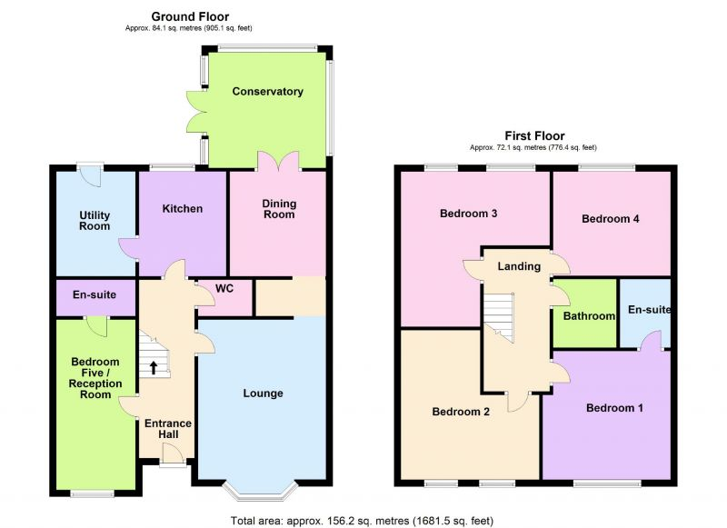 Floorplan for Grange Road, Bramhall, Stockport