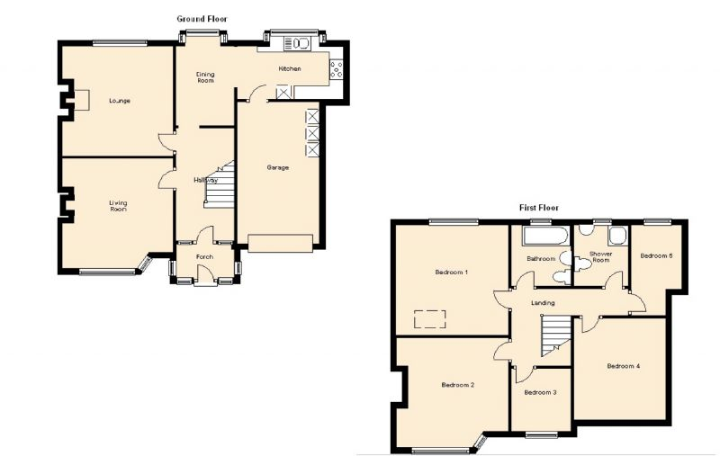Floorplan for Conyngham Road, Manchester