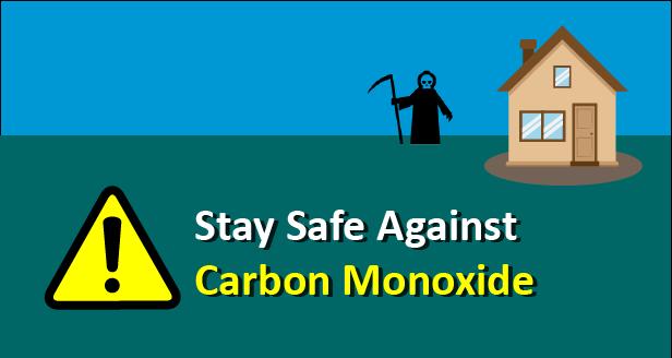 prevent carbon monoxide poisioning