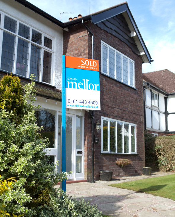 Edward Mellor Sold Sign