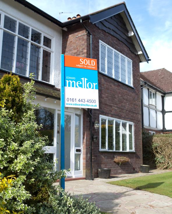 Edward Mellor Sold Sign
