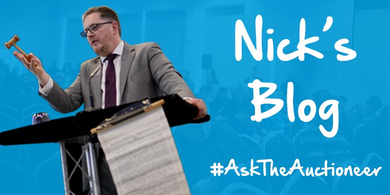 Nick Green's Blog - Ask The Auctioneer