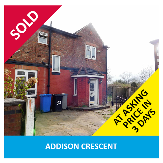 Addison Street Withington Sold Properties
