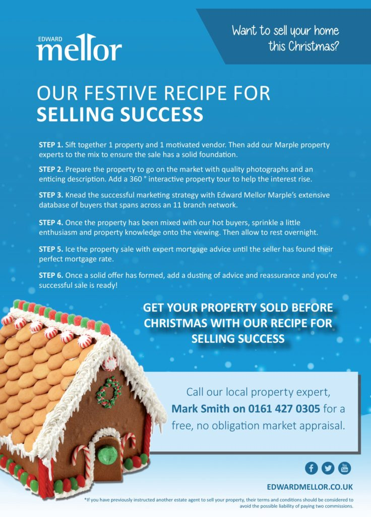 Our festive recipe for selling success! Get your property sold before Christmas
