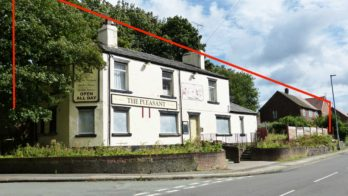 Former Pleasant Inn for auction