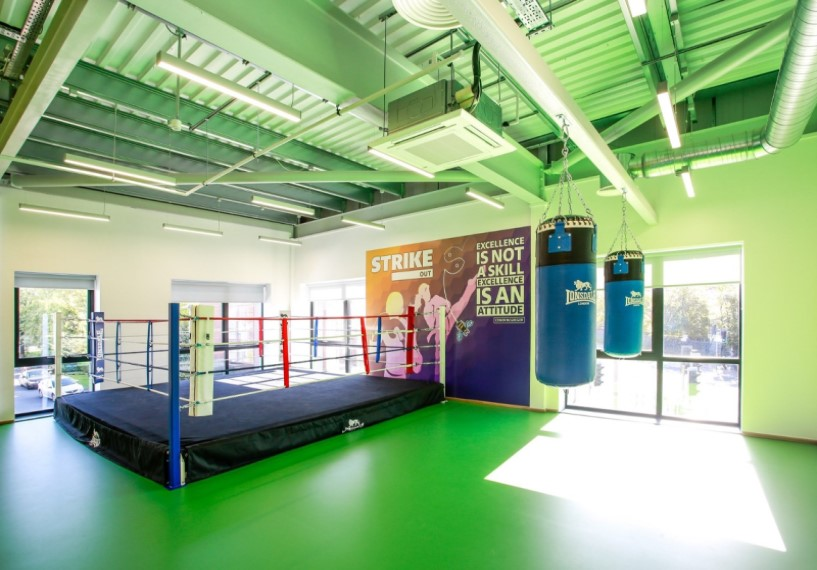 HideOut Zone Boxing Ring