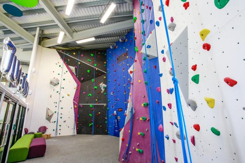 HideOut Zone Climbing Wall